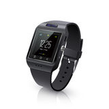 Smart Watch Realistic Image Black Royalty Free Stock Images