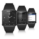 Smart watch set. Eps10 vector on white vector illustration