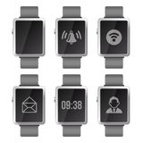 Smart Watch Set Stock Images