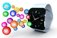 Smart watch Stock Images