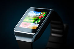 Smart watch. Smartwatch concept. Stock Images