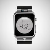 Smart watch stethoscope health technology Stock Image