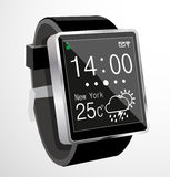 Smart watch. Vector illustration background Royalty Free Stock Photos