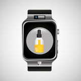 Smart watch wearable healthy chemical dropper Stock Photography