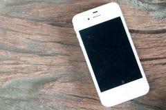 smart white för telefon royaltyfri illustrationer