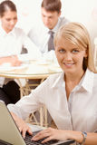 Smart woman Stock Images