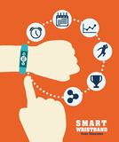 Smart wristband Royalty Free Stock Images