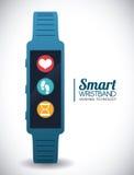 Smart wristband Royalty Free Stock Photo
