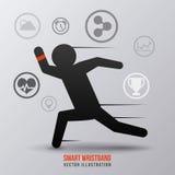 Smart wristband Royalty Free Stock Photos