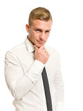 Smart young businessman. Stock Photography