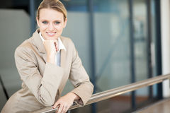 Smart young businesswoman Royalty Free Stock Image