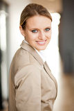 Smart young businesswoman Stock Photography