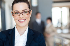 Smart young businesswoman Royalty Free Stock Photos
