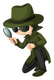 A smart young detective Stock Photos