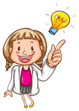 A smart young scientist Royalty Free Stock Photography