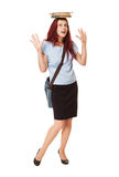 Smart young student. Royalty Free Stock Images