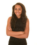 Smart young teenage girl  Stock Photography