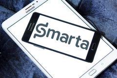 Smarta firmy logo Zdjęcia Royalty Free