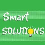 Smarta lösningar Arkivfoton