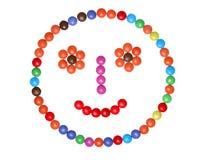 Smarties colorés Photo stock