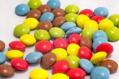 Smarties colorés Image stock