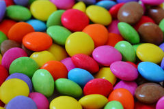 Pile of Smarties Stock Photo