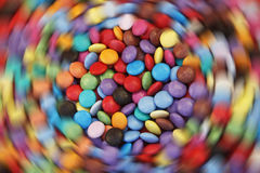 Smarties sweets candy Stock Image