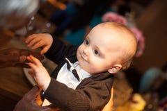 Smartly dressed boy Stock Photo