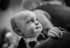 Smartly dressed boy Stock Images