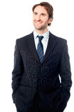 Smartly dressed male business executive Royalty Free Stock Photography