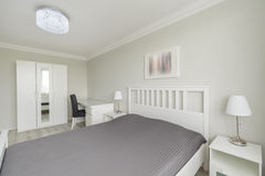 Smartly and exclusively arranged apartment Royalty Free Stock Photography