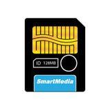 SmartMedia-couleur Image stock