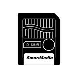 Smartmedia. Memory cards for digital cameras Royalty Free Stock Images