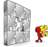 Smartoon Problem Solving Stock Photography