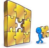 Smartoon Problem Solving Royalty Free Stock Image