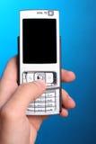 smartphone工作 免版税图库摄影