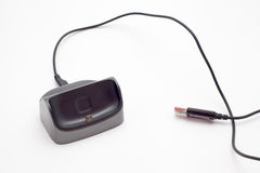 Smartphone ładowarka Obrazy Stock