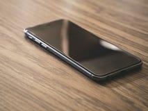 Smartphone Κλασικό μαύρο Smartphone Στοκ Φωτογραφία