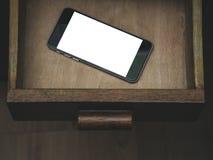 Smartphone Κλασικό μαύρο Smartphone Στοκ εικόνες με δικαίωμα ελεύθερης χρήσης