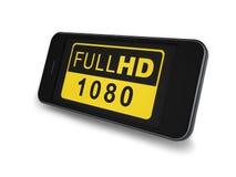 Smartphone - πλήρες HD Στοκ Εικόνες