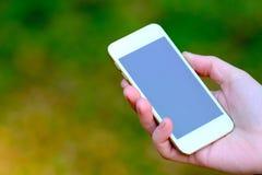 Smartphone στη διάθεση Στοκ φωτογραφίες με δικαίωμα ελεύθερης χρήσης
