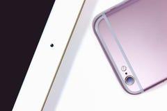 Smartphone и таблетка Стоковые Изображения