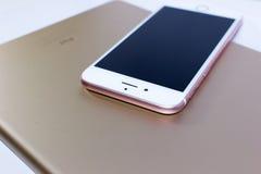 Smartphone и таблетка Стоковая Фотография RF