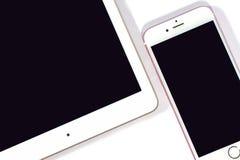 Smartphone и таблетка Smartphone Стоковые Изображения