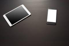 Smartphone и цифровая таблетка Стоковые Фотографии RF