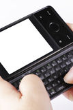smartphone путей клиппирования Стоковая Фотография RF