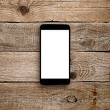 Smartphone с пустым экраном Стоковая Фотография RF