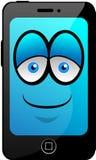 Smartphone шаржа Стоковые Изображения RF