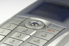 Smartphone 01. Details of a nokia 9300 smartphone Stock Photography