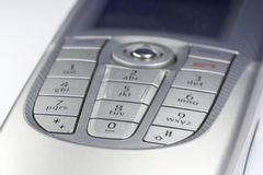 Smartphone 02. Details of a nokia 9300 smartphone Royalty Free Stock Photo